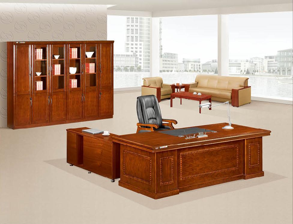 广东办公家具 实木办公桌K-2406产品大图