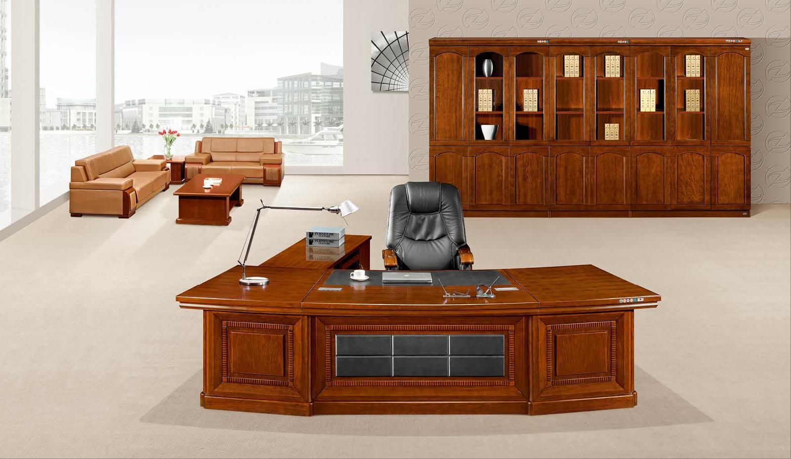 总裁办公桌K-2812产品大图
