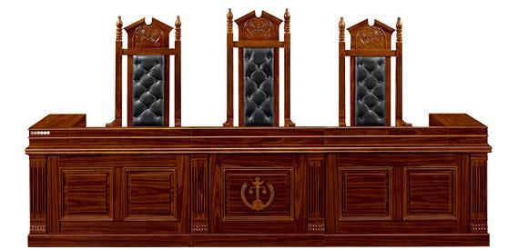 法庭家具 法官台 审判台产品大图