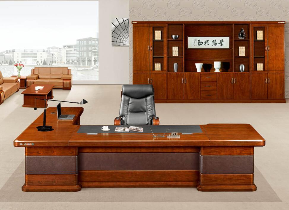办公家具 领导办公桌 高档办公桌K-3266产品大图