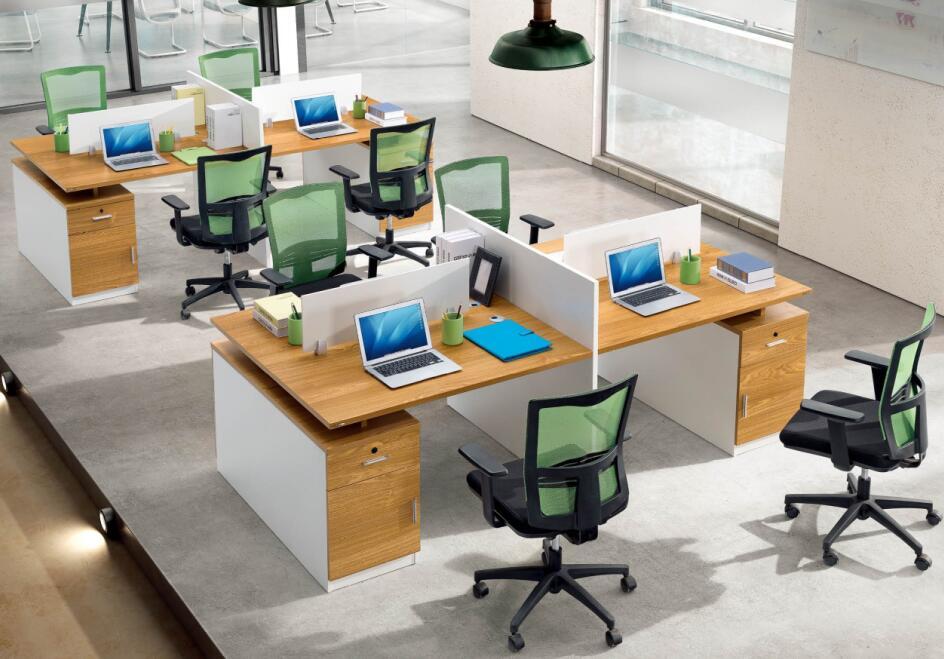 职工办公桌TM-06243产品大图