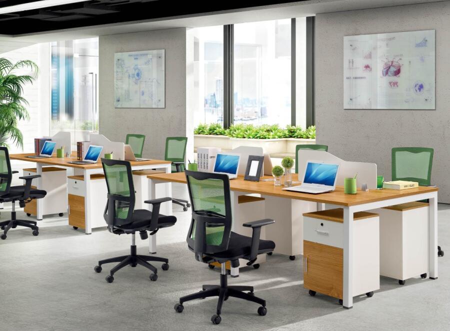 员工办公桌TM-06241产品大图