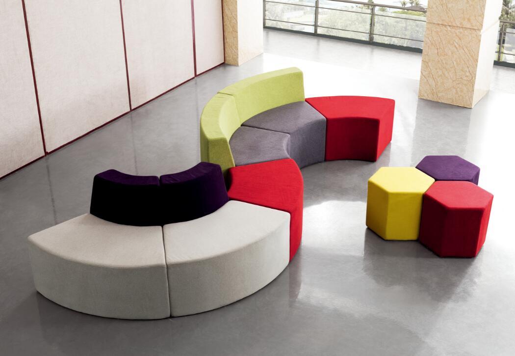组合异形沙发F618