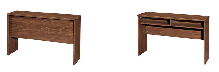 0.8米长棕色会议厅用办公桌实拍图.jpg