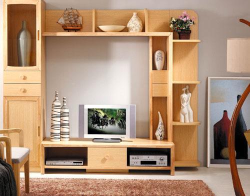 原木色白橡木实木装饰电视柜图.jpg
