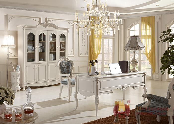 欧式家具定制书房装饰效果图.jpg